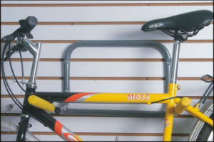 Black Coated Metal Wall Bike Hangers PV003 pictures & photos