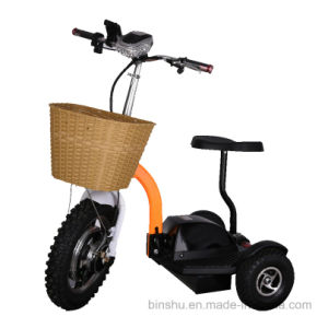 3 Wheel Electric Power Scooter with Brushless Motor pictures & photos
