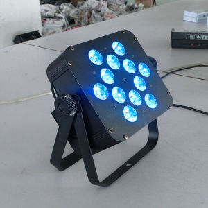 Hot Selling in USA 12PCS RGBW Quad LED Puck Light pictures & photos