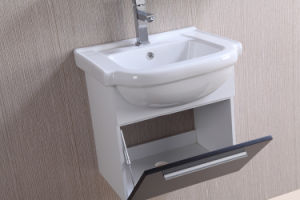 PVC Wall Mounted Bathroom Storage Cabinets with Cheap Price pictures & photos