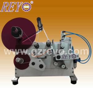 Semi-Automatic Round Simple Construction Label Machine