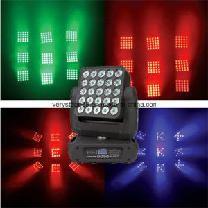 25 Pieces 10W LED Moving Head Magic Panel Light pictures & photos