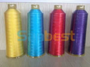 Premium Polyester Embroidery Thread for Embroidery pictures & photos