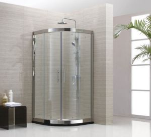 Customized Simple Shower Room Made of Toughened Glass pictures & photos