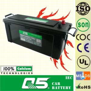 JIS Standard Maintenance Free Truck Battery with N120MF 12V120AH pictures & photos