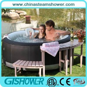 Modern Outdoor Air Bubble Massage Bath Tub (pH050010) pictures & photos