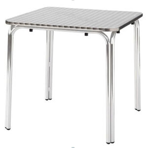 Factory Price Outdoor Restaurant Aluminum Cafe Dining Table (DT-06165S) pictures & photos