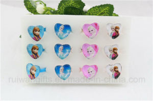 Fashion Heart Shape Glass Frozen Rings for Kids Ring Jewelry pictures & photos