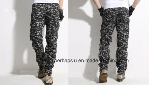 Cool Mens Camo Print Cargo Pants pictures & photos