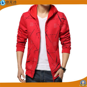 Fashion Brand Hoodies Men Casual Sports Wear Printing Zipper Hoody pictures & photos