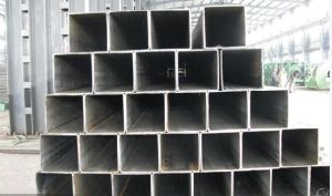 Black Square Steel Pipe pictures & photos