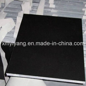Mongolia Black Granite for Floor Decoration (YQA-GT1012) pictures & photos