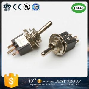 on-on Spdt 3p Sub-Miniature Toggle Switch, Mini Switch Small Toggle Switch, Rocker Switch pictures & photos