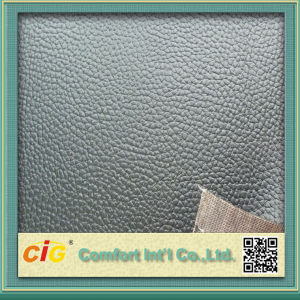 High Quality Colorful PVC Sponge Leather pictures & photos
