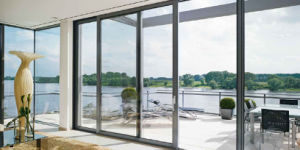 Hot Sale Aluminum Sliding Door for Living Room with Low-E Glass pictures & photos