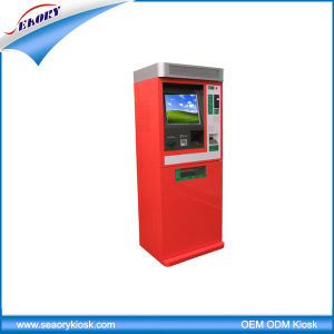 Wall Through Credit Card Payment Mobile Cell Phone Charging Kiosk pictures & photos