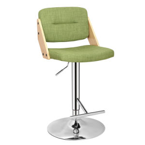Multicolor Wooden and Fabric Furniture Adjustable Bar Chair (FS-WB1951) pictures & photos