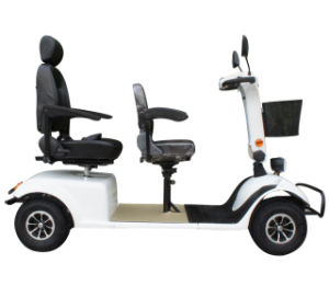 Hot Sale Four Wheel 800W Brush Motor Scooters for Sale pictures & photos