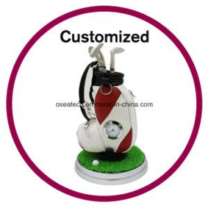 Custom Desktop Golfer Pen Gift pictures & photos