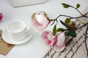 High Quality Decoration Artificial Flower of Magnolia Spray (SW04802) pictures & photos