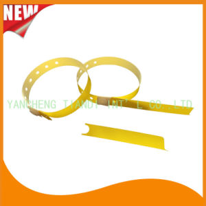 Hospital Plastic ID Wristband Bracelet Bands with Tail (8060-21) pictures & photos
