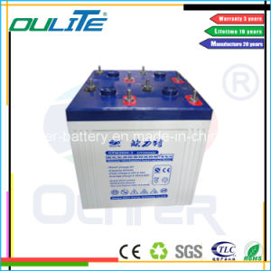 Oliter 2V2000ah AGM Solar Battery CE RoHS UL pictures & photos