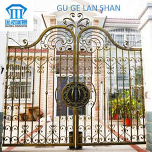 High Quality Crafted Wrought Iron Gate/Door 036 pictures & photos