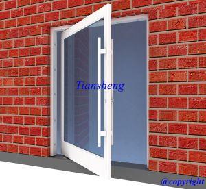 Aluminum Floor Hinge Door/Spring Door for Entrance Door for High Building pictures & photos