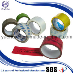 Flat Packaging with Brown Custom BOPP Tape pictures & photos