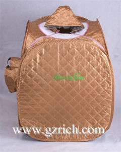 Portable Steam Sauna Room with Foot Massager pictures & photos