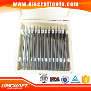 13PCS Wood Box Flat Wood Drill Bit Set pictures & photos