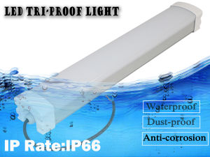 0-10V Dimmable Aluminum LED Tri Proof Lamp with IP66 pictures & photos