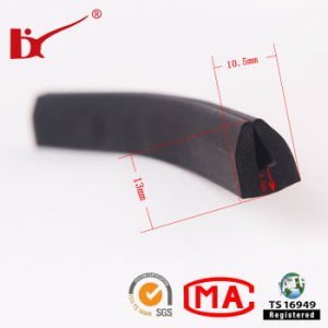 U Channel Rubber Extruded Foam Sealing Strips pictures & photos