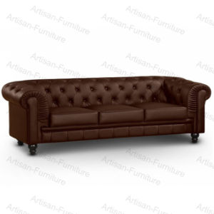 Tufted Chesterfield Sofa for Living Room Furniture (JP-SF-017)
