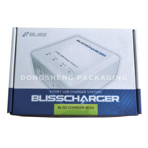 Paper Color Box for Electronic Product, Bliss Charger, China Supplier, China Manufacturer