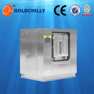 Hospital Industrial Washing Machine 30kg to 140kg Washer Extractor with Sanitary Barrier pictures & photos