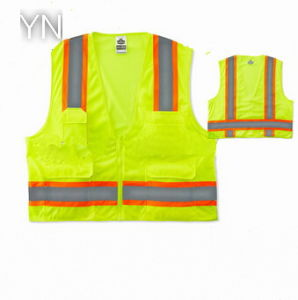 Reflective Hot Selling Cheap Roadway Traffic Safety Vest pictures & photos