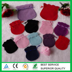 Custom Fashionable High Quality Velvet Bag for Jewelry Wholesale pictures & photos