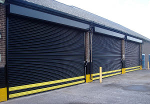 Aluminium Industrial Roller Doors with High Secutity (TMS100A) pictures & photos