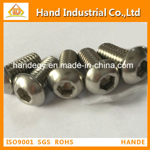 316 ISO7380 Stainless Steel Button Head Cap Screw pictures & photos