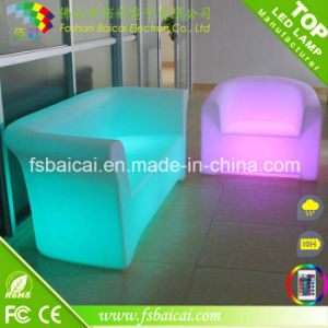 LED Plastic Sectional Sofa Modern Sofa Living Room Sofa