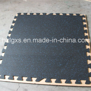 1m*1m Gym Interlocking EPDM Dots Rubber Mat pictures & photos