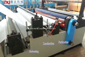 Semi-Automatic Rewinding Toilet Paper Machine Sp pictures & photos