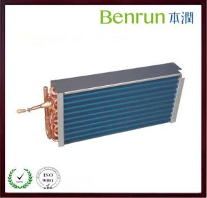 Copper Pipe Refrigeration Parts with Aluminum Fin