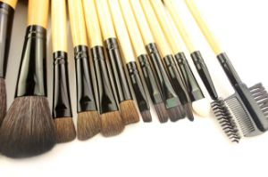 24 Pieces Cosmetic Tool Portable Orignal Wood Handle Makeup Brush pictures & photos