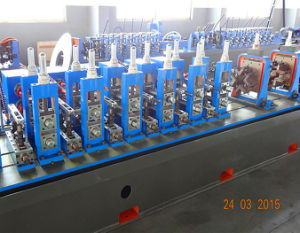 Wg32 Carbon Steel Welded Pipe Production Line pictures & photos