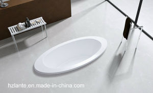 Factory Cheap Price Ellipse Acrylic Built-in Bathtub (LT-16P) pictures & photos