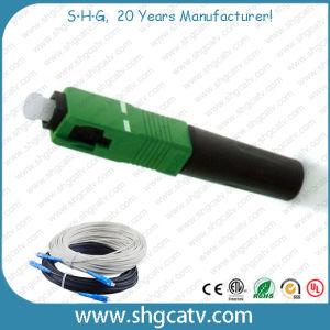 Sc/APC FTTH Fast Optical Fiber Connector pictures & photos