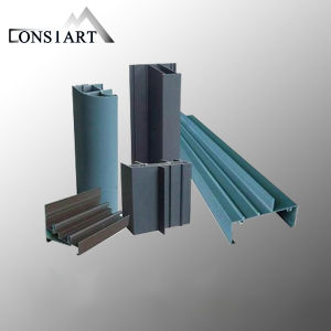 Constmart China Supplier Aluminum Window Extrusion Profile Price Per Kg pictures & photos