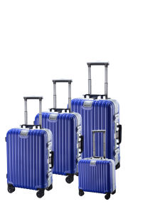 2015 PC Traval Case Multiwheel Aluminum Color Frame Luggage (APC02) pictures & photos